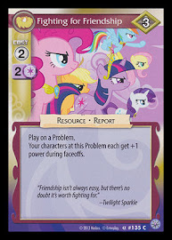 My Little Pony Fighting for Friendship Premiere CCG Card