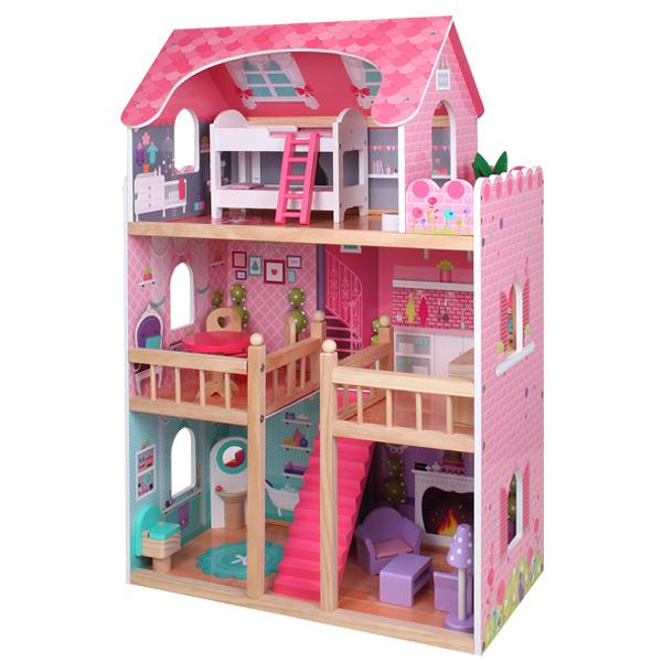 Laloylila gran casa de mu ecas de eurekakids - Gran casa de munecas playmobil ...