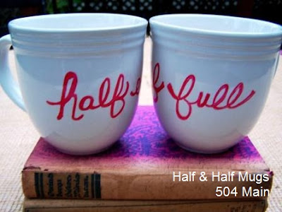 easy DIY mugs by 504 Main