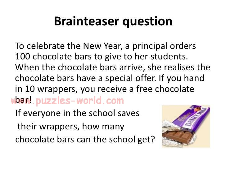 How many Chocolate Bars can the school get ?
