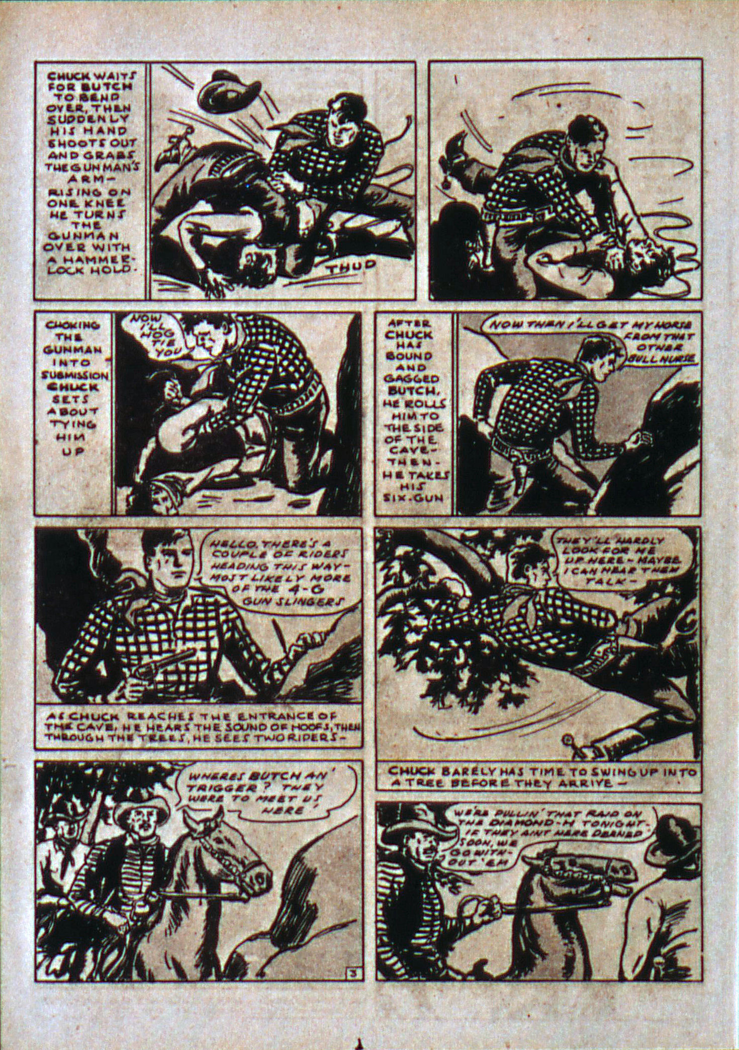 Read online Action Comics (1938) comic -  Issue #6 - 19