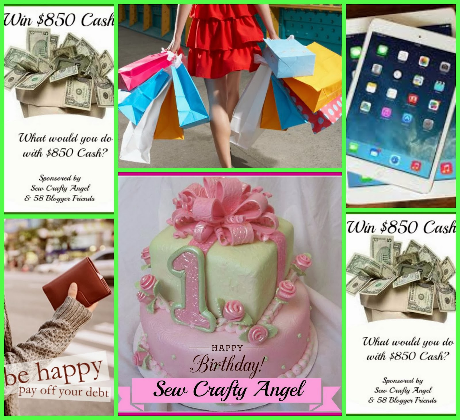 an encouragement link up and a cash giveaway