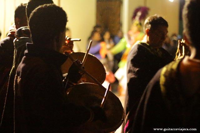 Músicos en Upacá