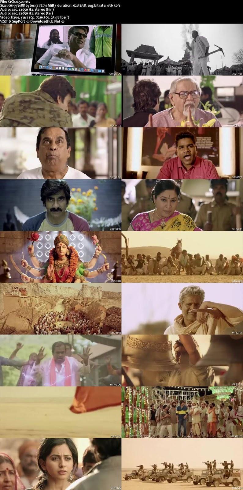 Kick 2 2015 Telugu-Hindi Dubbed Screenshot