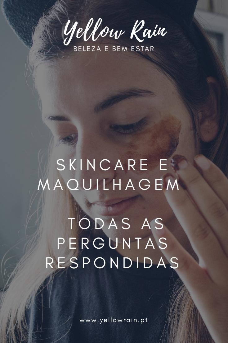 Skincare E Maquilhagem | Todas As Perguntas Respondidas