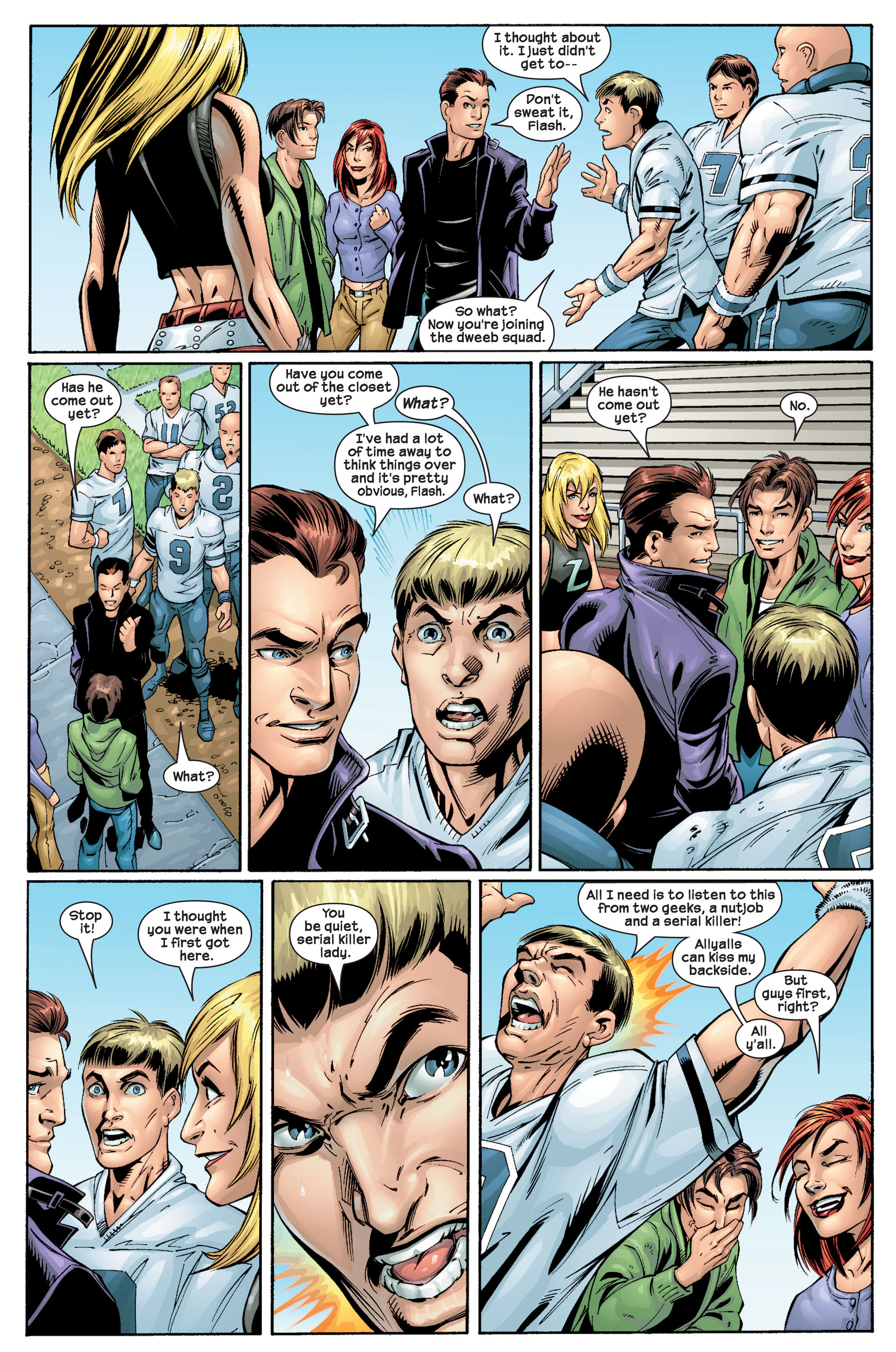 Read online Ultimate Spider-Man (2000) comic -  Issue #22 - 20