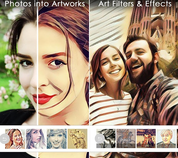 Aplikasi Edit Foto Menjadi Efek Kartun