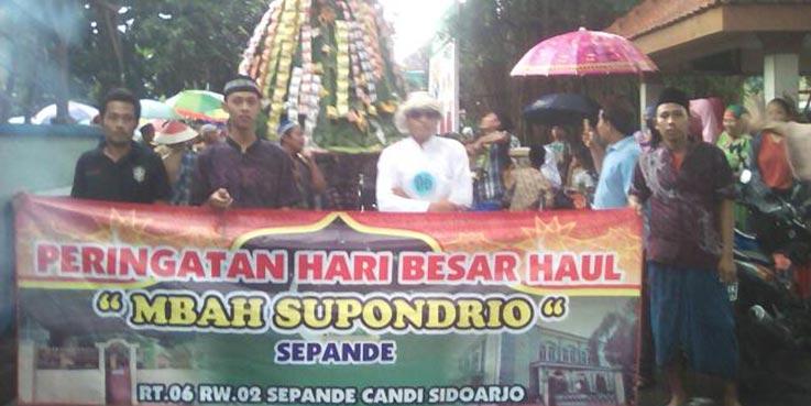 Peringatan hari besar haul Mbah Supandrio, Sepande