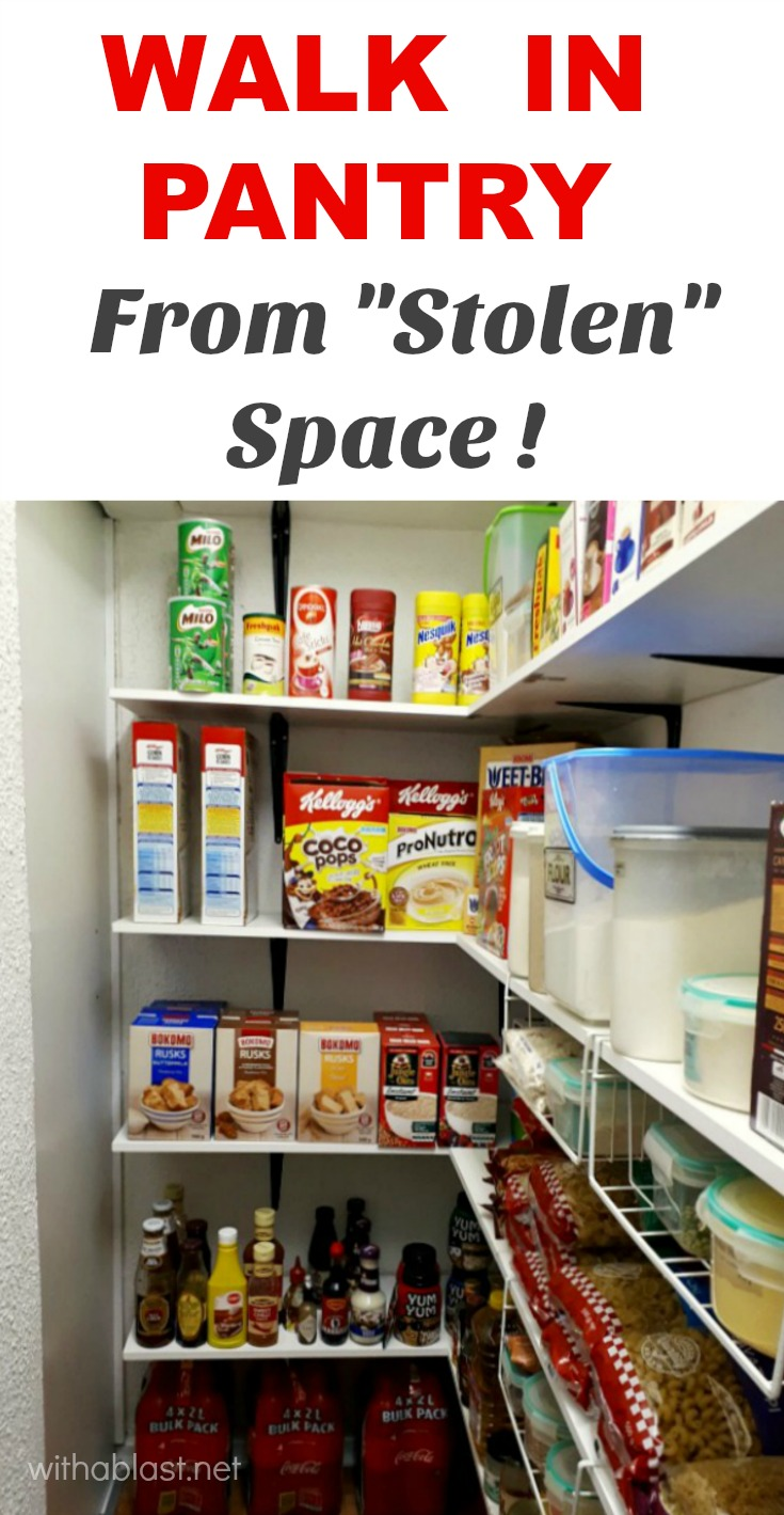 Walk in pantry joy studio design gallery best design for Cost to build a pantry