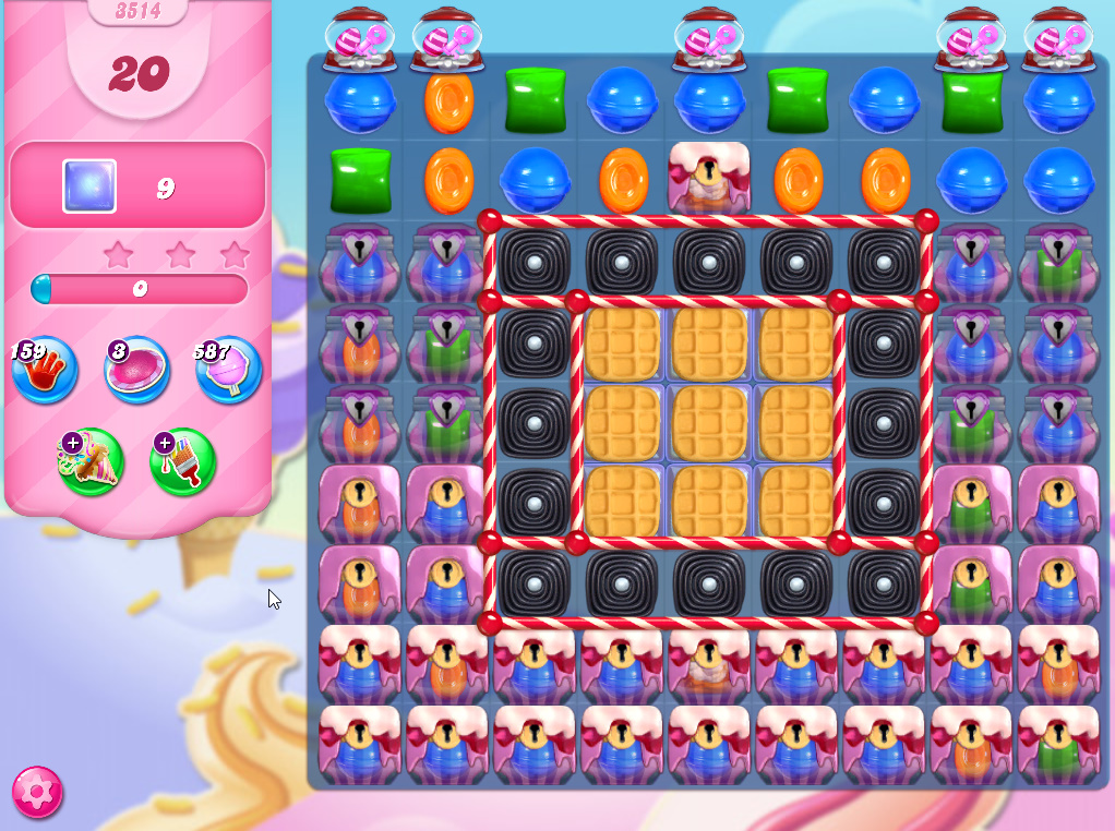 Candy Crush Saga level 3514