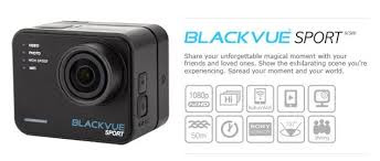 Blackvue Sport SC500 hitam elegan