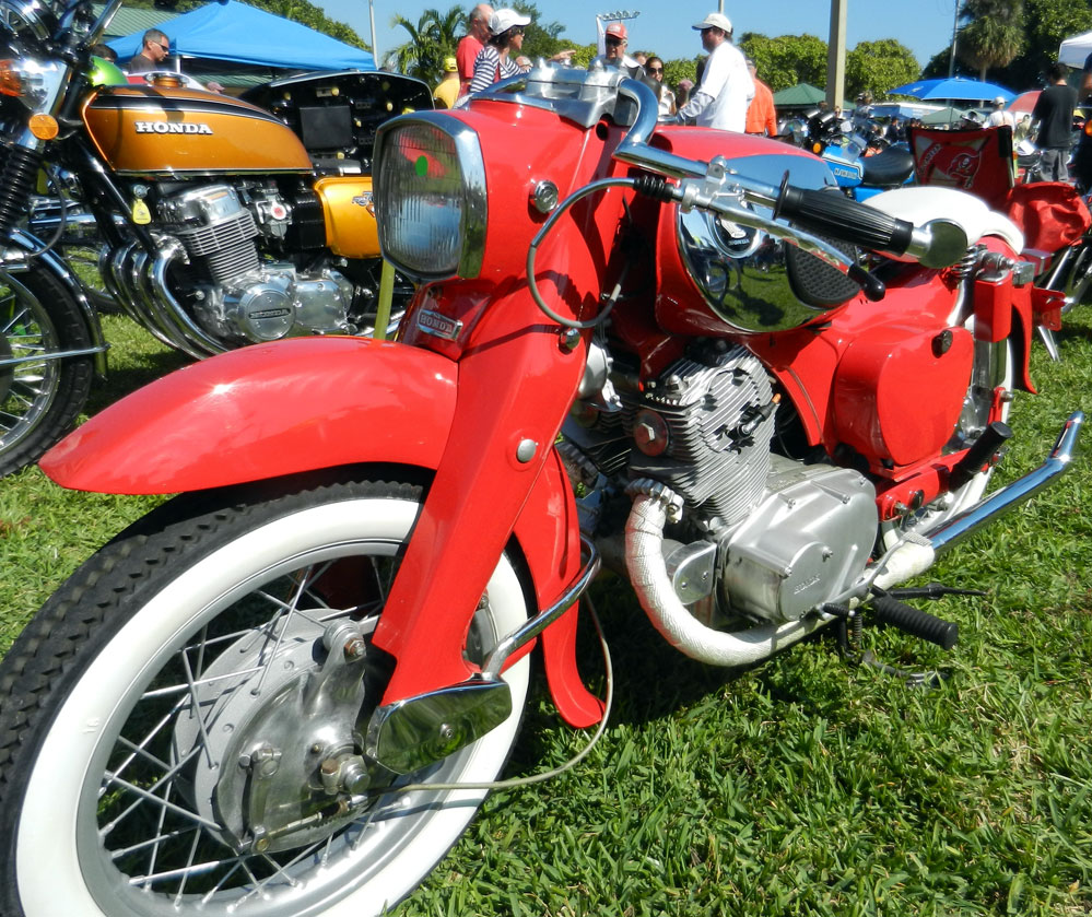 Honda Vintage Motorcycle Parts 60s