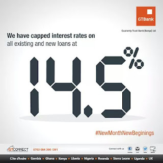 GTBank of Kenya capped loan interest rate on new and existing loans at 14.5%