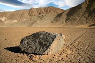 Las piedras que caminan en el Valle de la Muerte, curiosidades