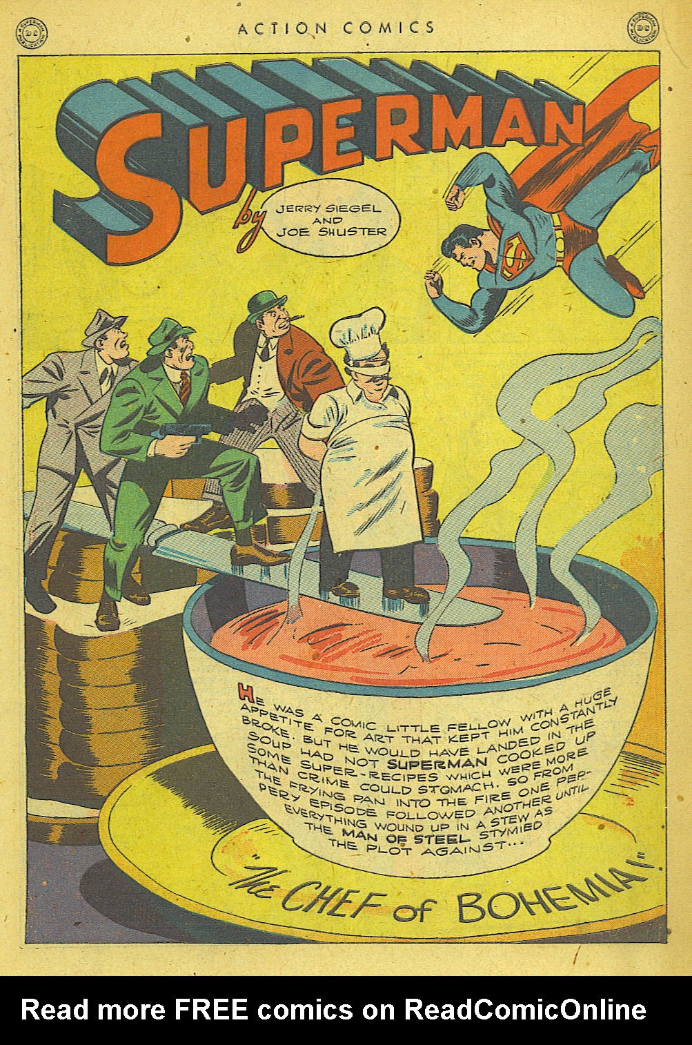Read online Action Comics (1938) comic -  Issue #78 - 2
