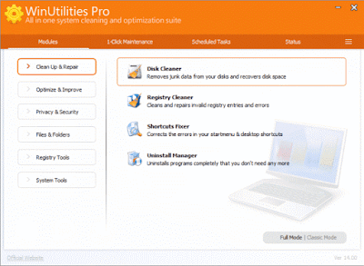 WinUtilities Professional Lengkap Keygen v14.66 Final Update