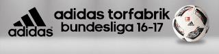 Ball Adidas Torfabrik Bundesliga 2016 - 2017 Pes 2013