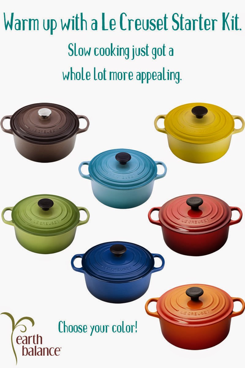 Enter the Le Creuset Starter Kit Giveaway. Ends 2/28