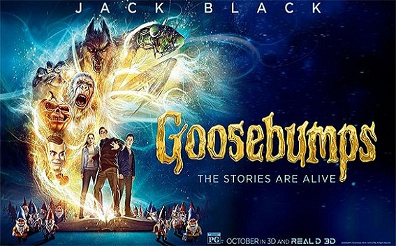 Goosebumps 2015 Hindi Dubbed 720p BluRay Download