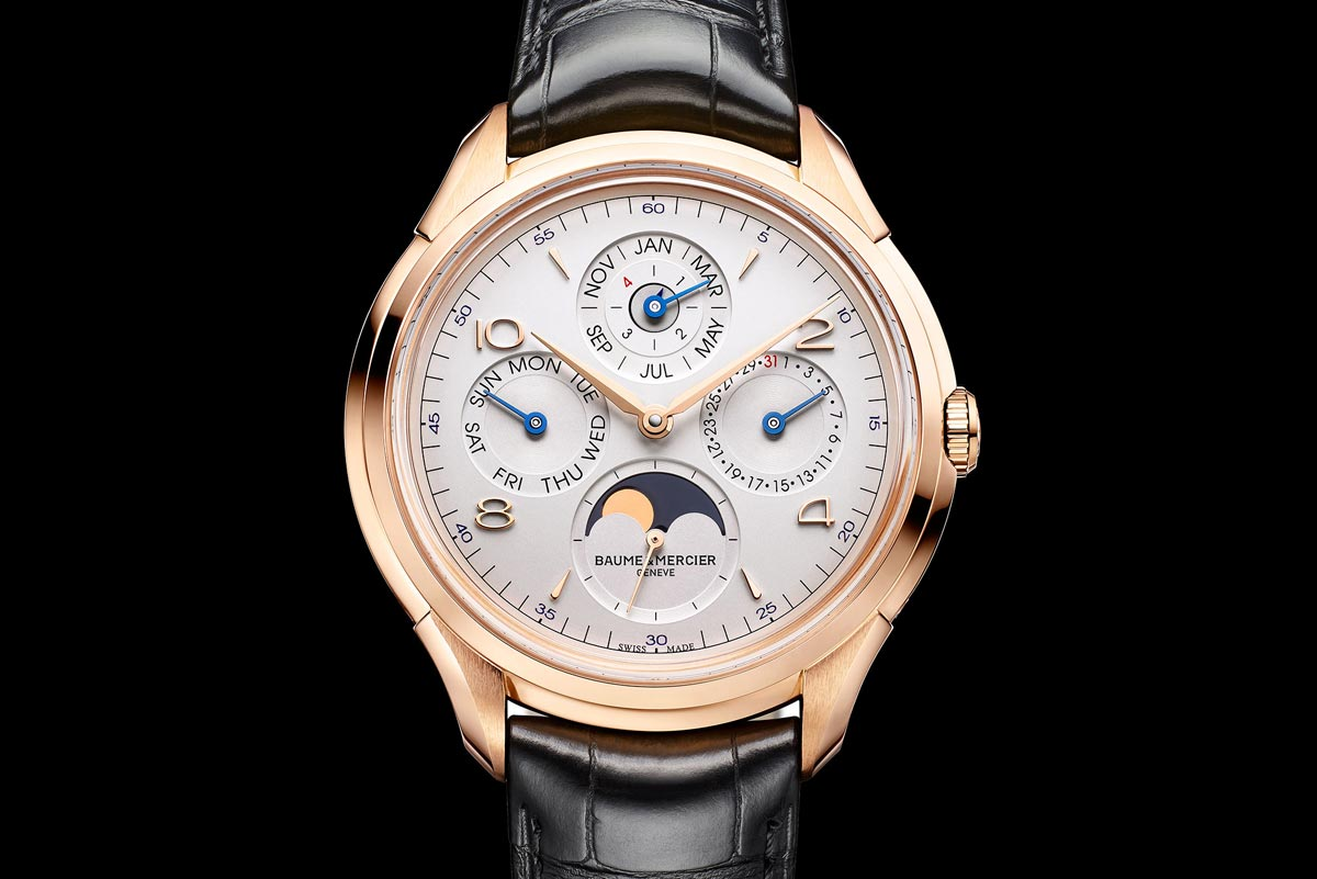 Pre sihh 2017 baume et mercier clifton perpetual calendar time and watches for Calendar watches