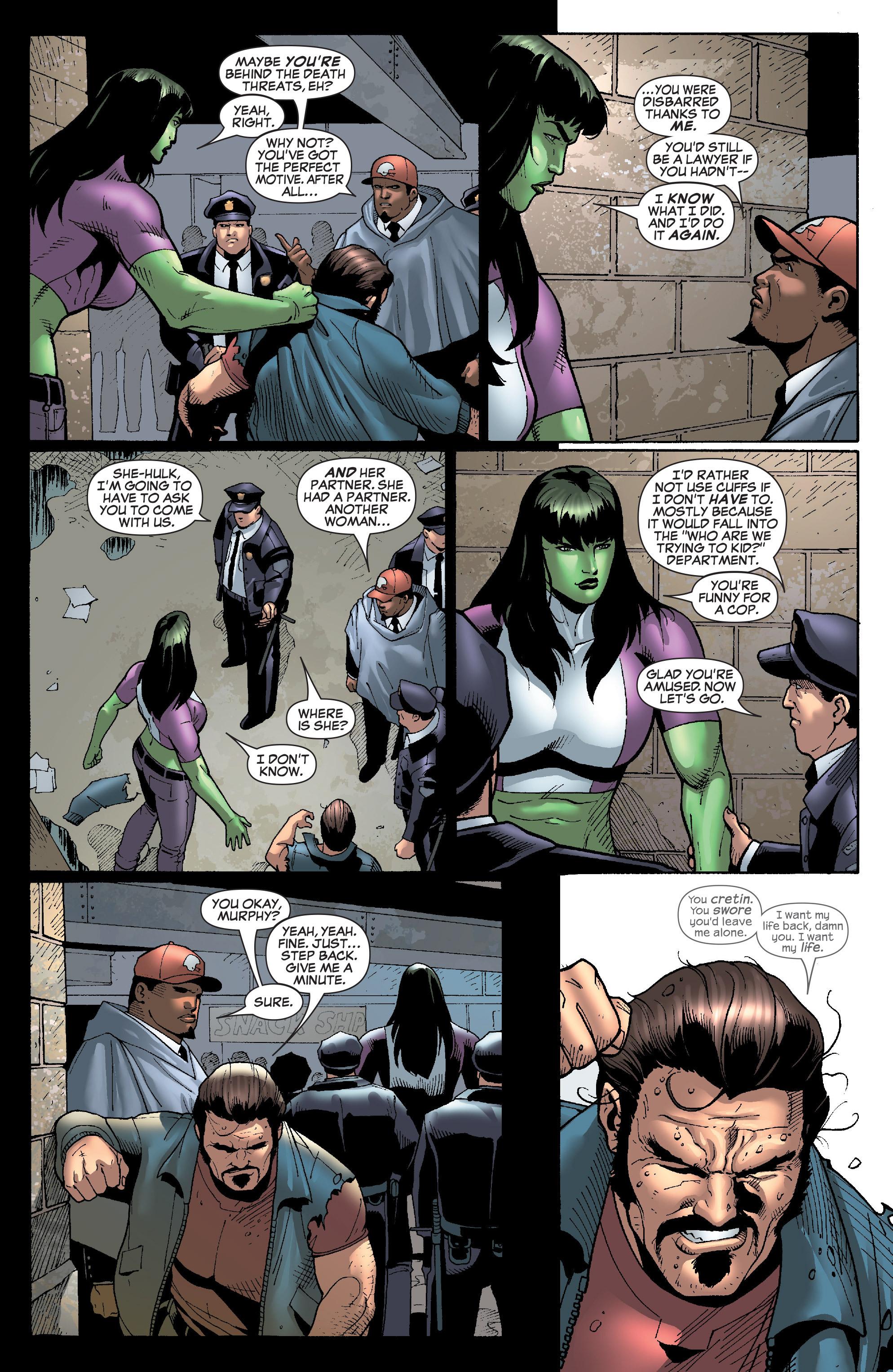Read online She-Hulk (2005) comic -  Issue #28 - 23