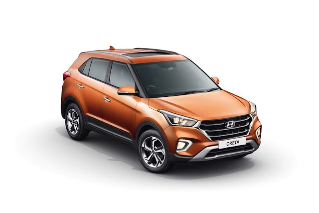 2018 Hyundai Creta Facelift version SUV