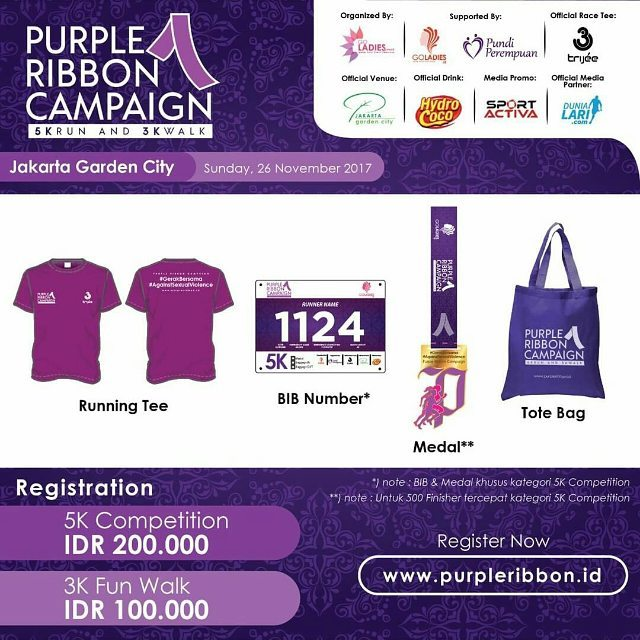 Purple Ribbon Run • 2017