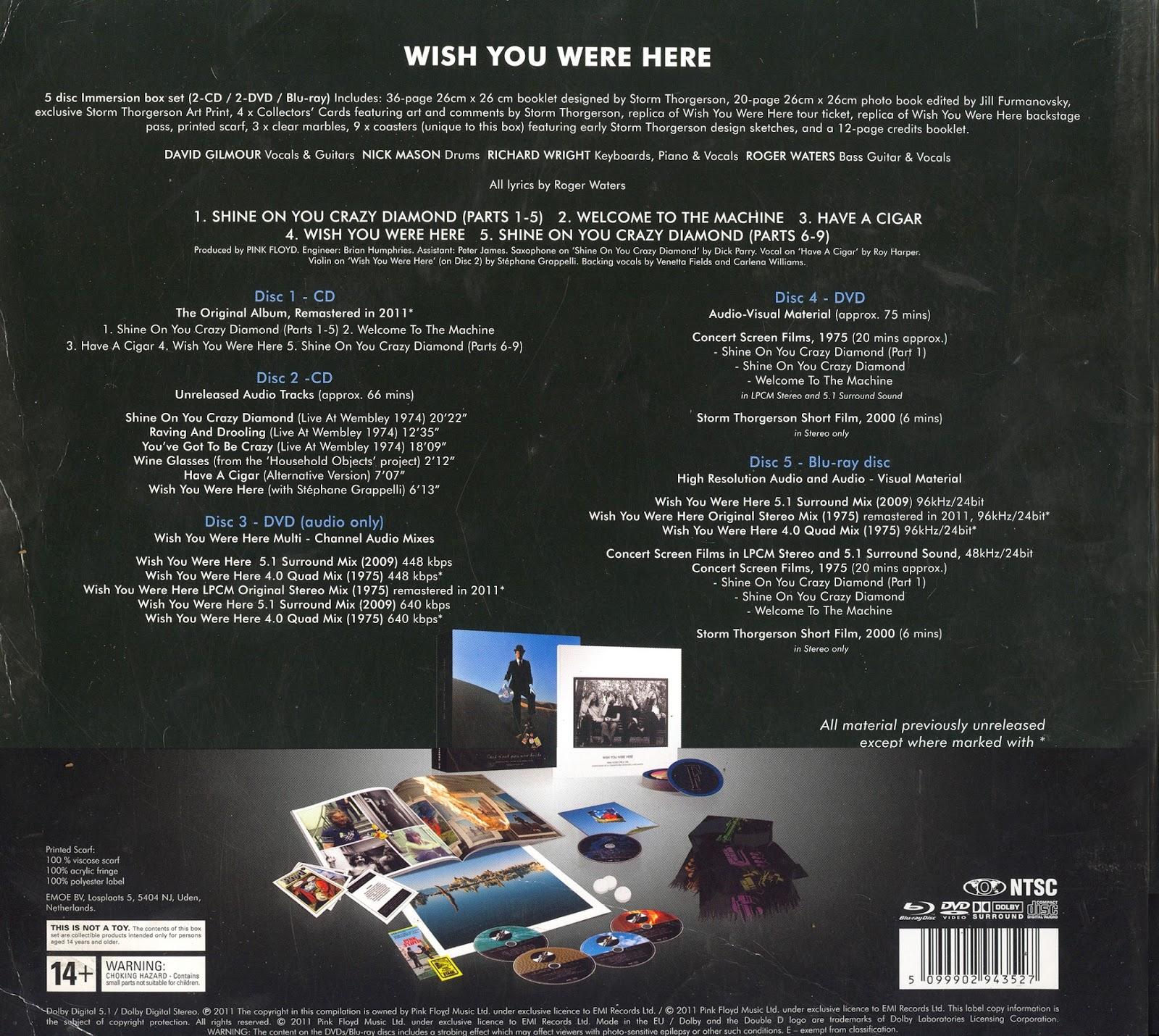 Pink Floyd Dark Side Of The Moon Immersion Rar Download