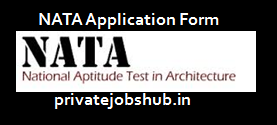 NATA Application Form
