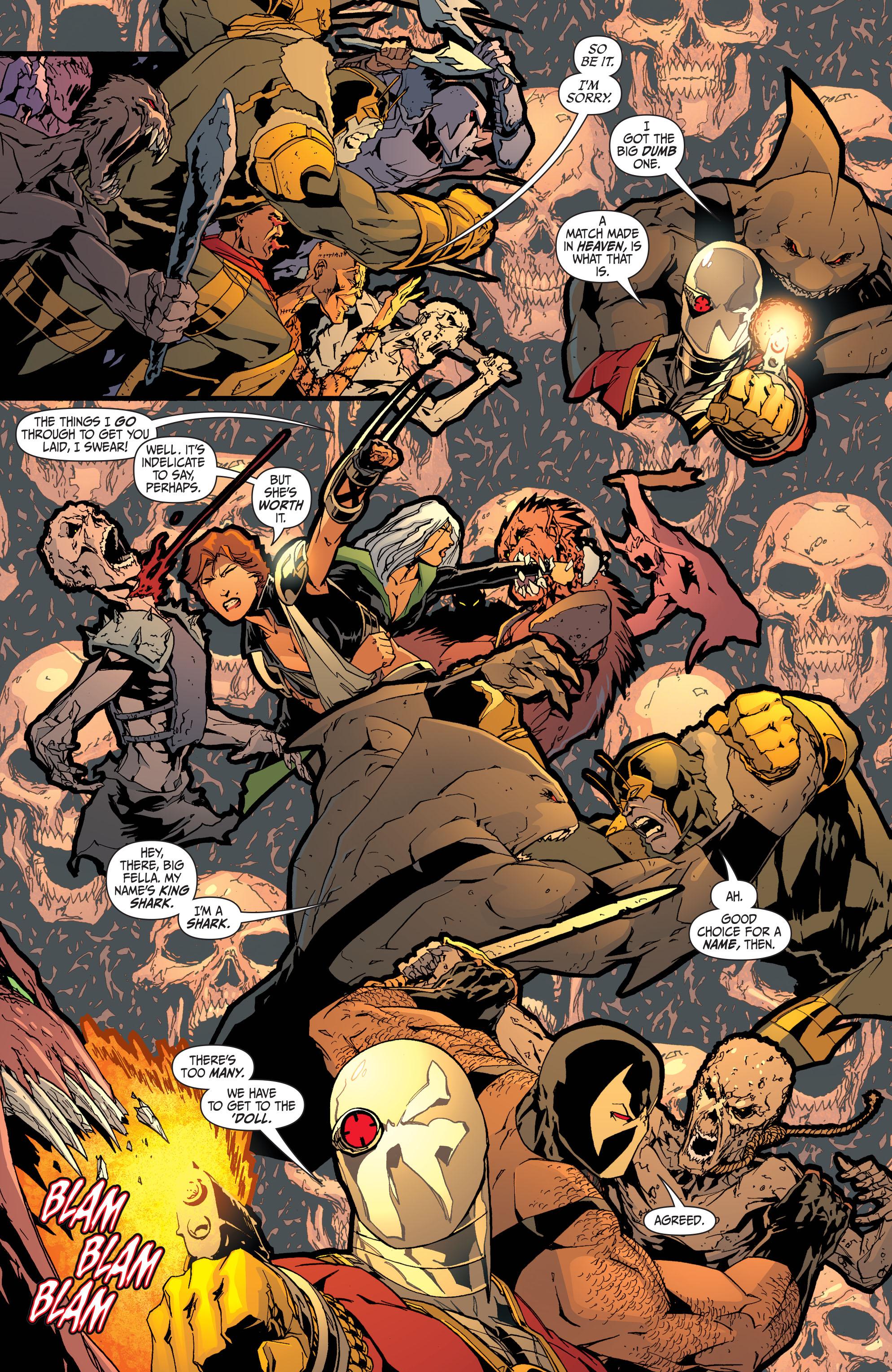 Read online Secret Six (2008) comic -  Issue #32 - 17