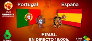 final euro sub 17 de futbol en la Sexta