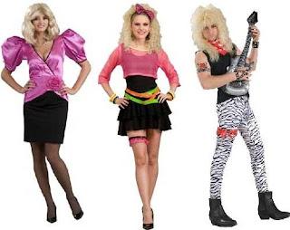El Arte De Ser Mujer Halloween Disfraces De Los 80 S