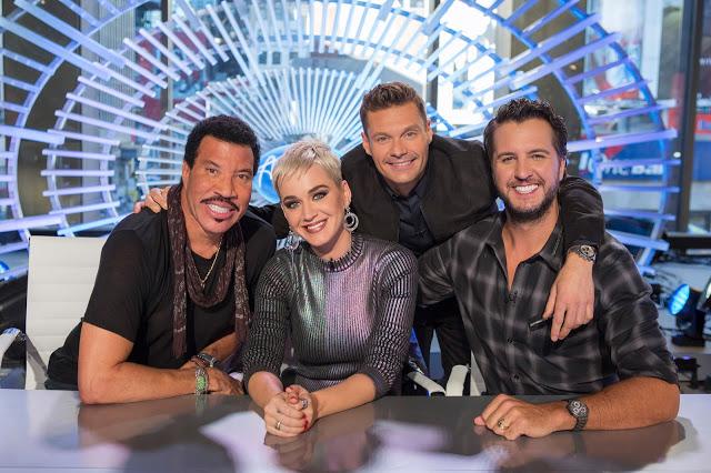 'American Idol's' host Ryan Seacrest and judges Katy Perry, Lionel Richie and Luke Bryan get Disney Emojified