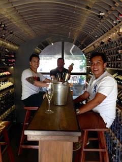 Patrick Tubajon, Christopher Panadero , Gudrun Restaurant, Kalami Cebu Food Trip, Nezte Virtudazo, Carlo Andrew Olano, Cebu Food Trip, La Vie Parisienne, Cebu Food blog