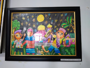 Ayu, Pelukis Cilik dari SDIT Rabbani Bengkulu