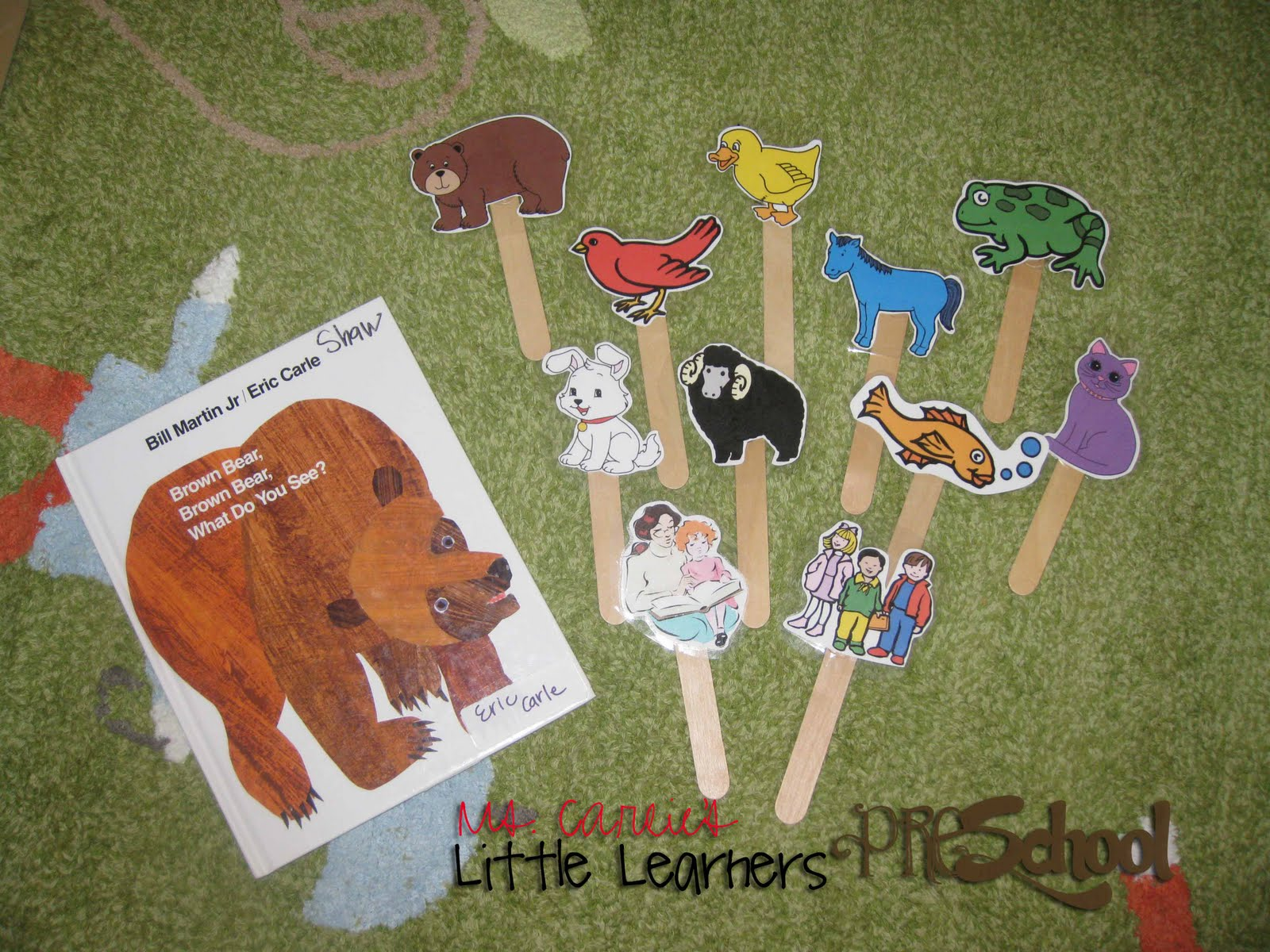 Ms Carlie S Little Learners Preschool Brown Bear Brown Bear What Do You See