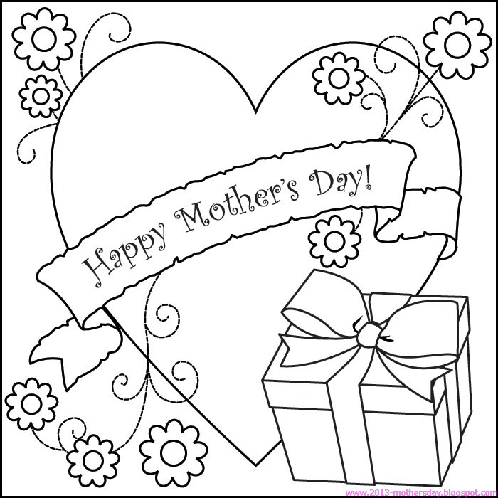 Free Download Mother S Day 2016 Pictures To Print And Color