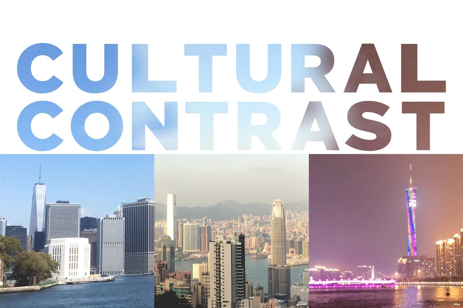 lavlilacs Cultural Contrast: NYC, HK, GZ