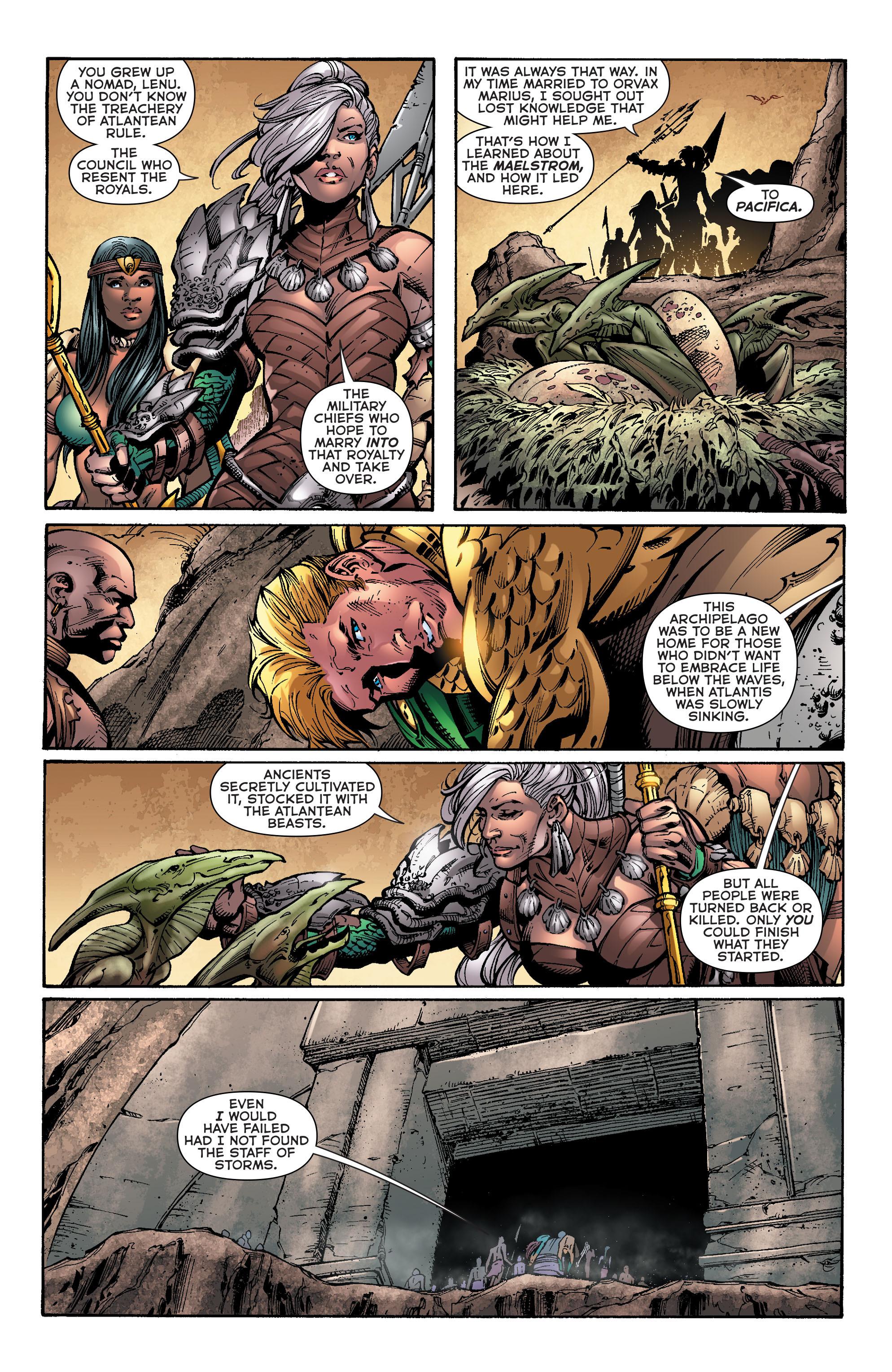 Read online Aquaman (2011) comic -  Issue #39 - 8