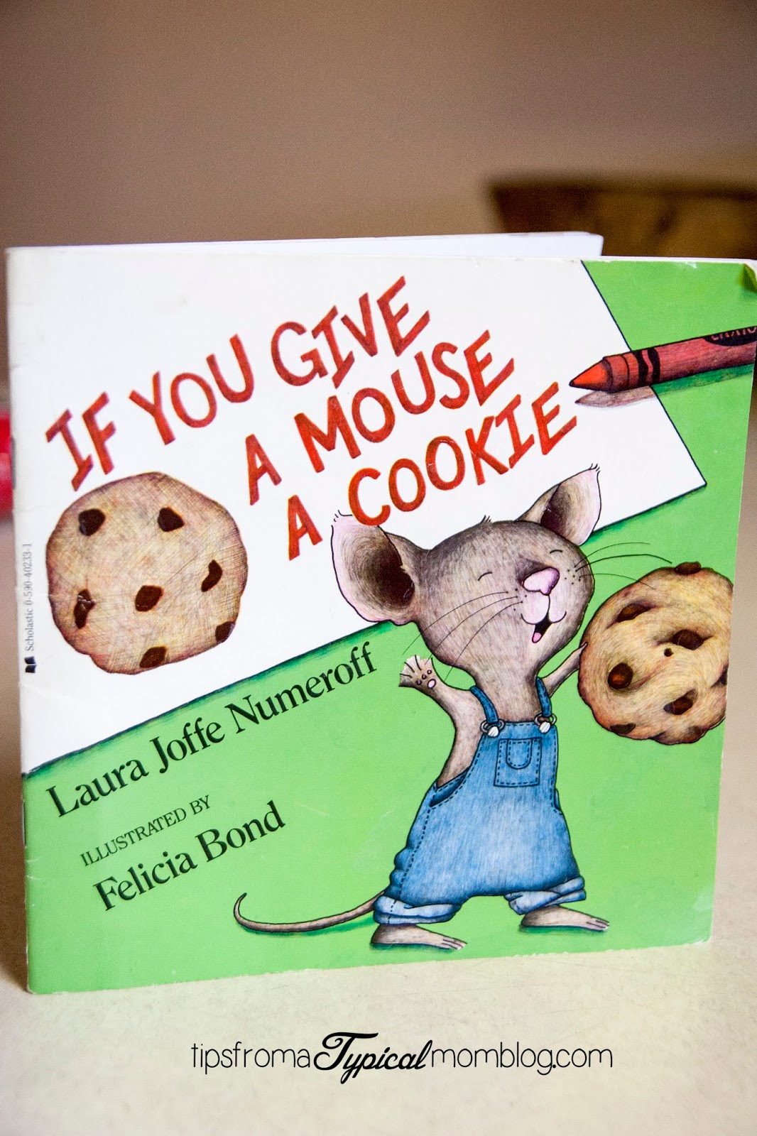 Perfect Chocolate Chip Cookie Recipe Amp Math Activity If You Give A Mouse A Cookie