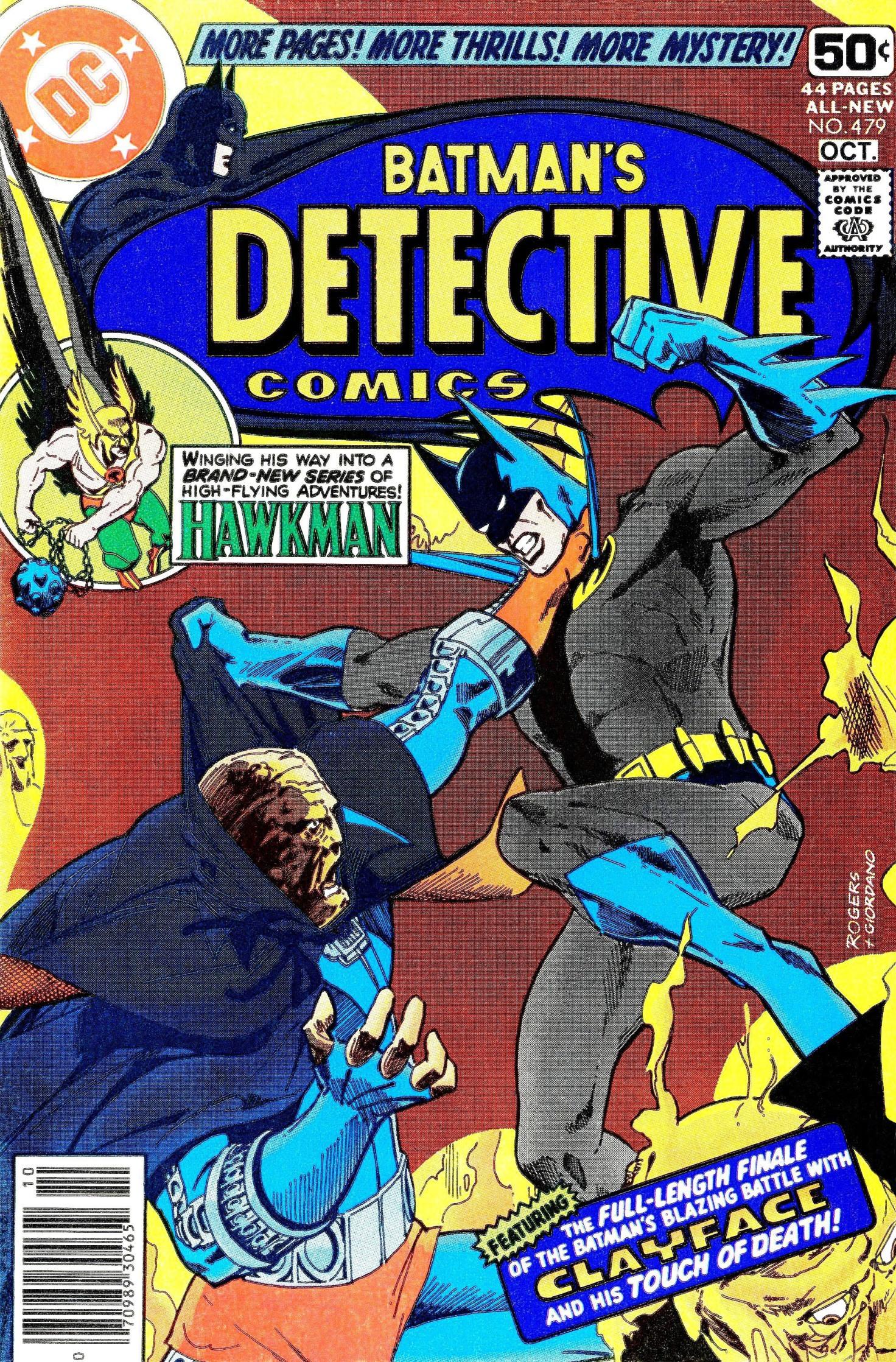 Detective Comics (1937) 479 Page 1