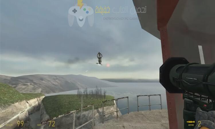 تحميل لعبة هاف لايف Half Life 2 للكمبيوتر برابط مباشر