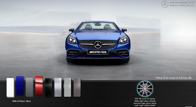 Mercedes AMG SLC 43 2018