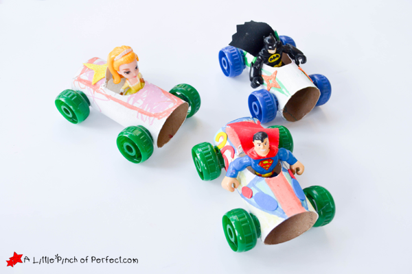 Craft And Play Toilet Paper Roll Car Craft