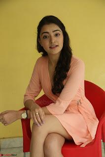 Rukshar Mir in a Peachy Deep Neck Short Dress 087.JPG