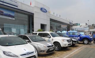 Danh sách đại lý Ford Hà Nội