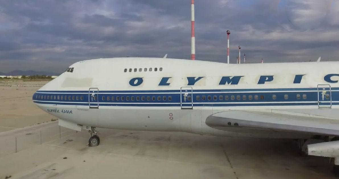 Τα εγκαταλελειμμένα αεροπλάνα της Ολυμπιακής στο Ελληνικό μέσα από ένα εναέριο βίντεο!