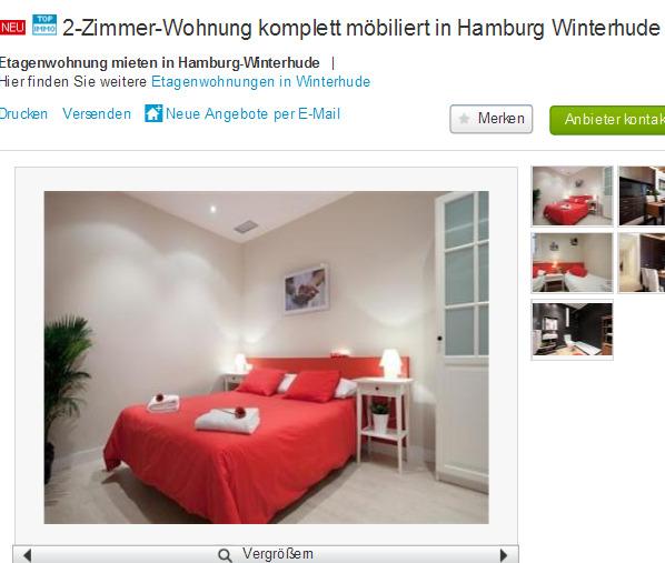 alias manuel weber 2 zimmer wohnung komplett m biliert in hamburg. Black Bedroom Furniture Sets. Home Design Ideas