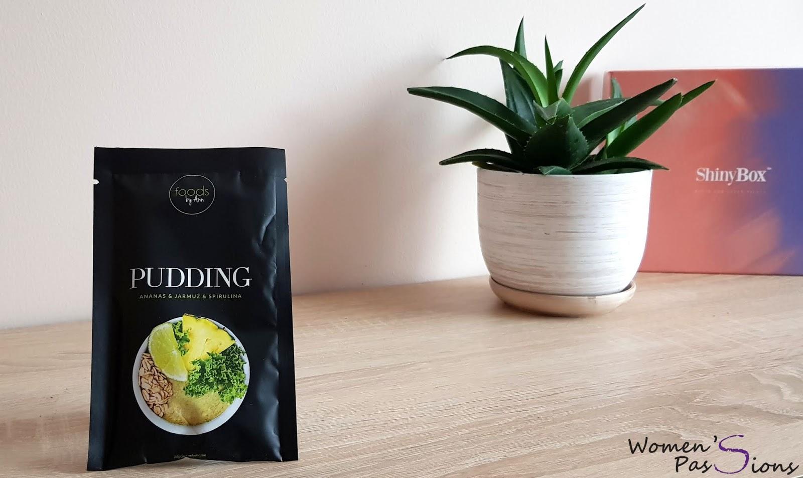 Foods by Ann Pudding - Ananas, Jarmuż i Spirulina
