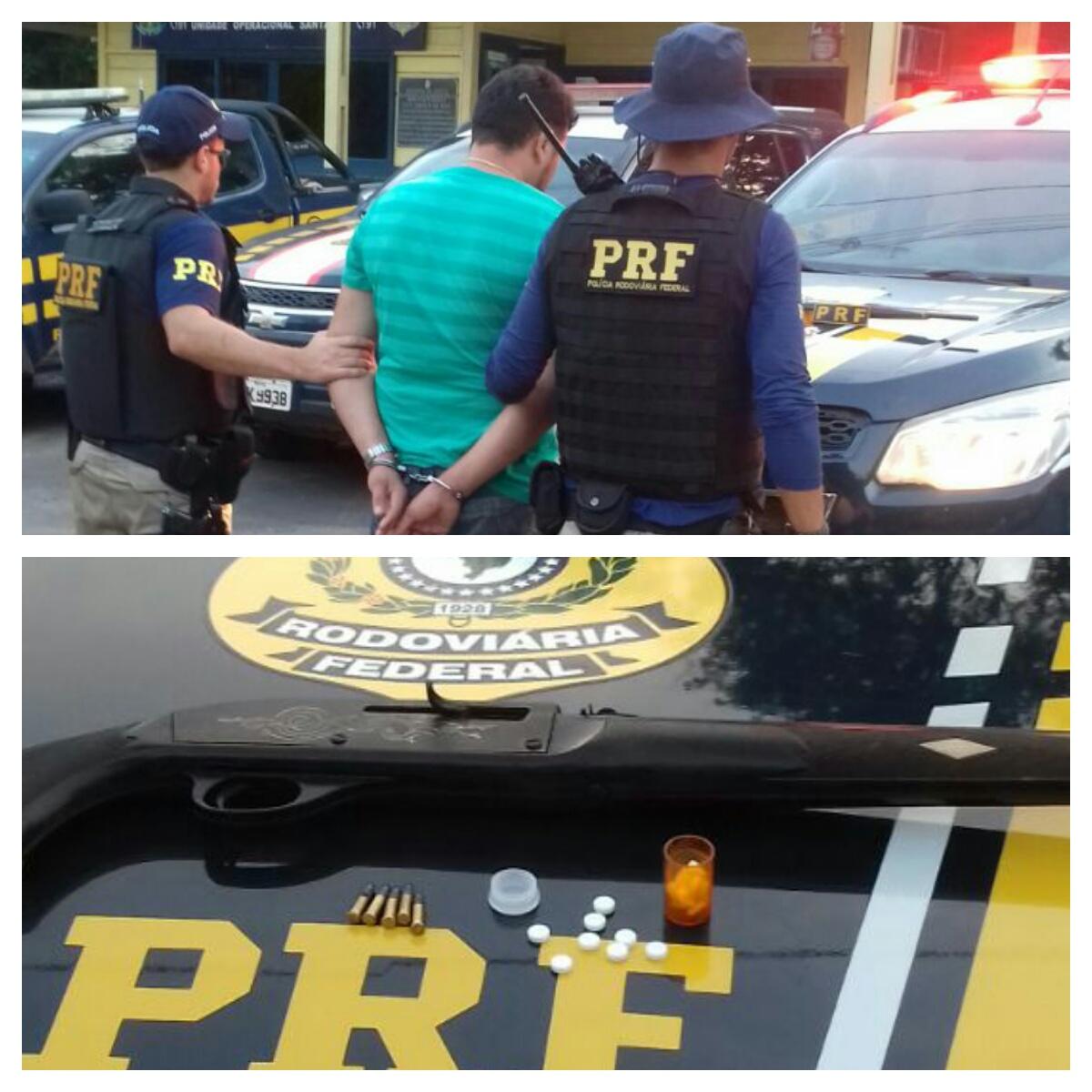 Blog do xarope prf prende homem em pajero tr4 com arma de for Interior y policia consulta de arma